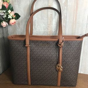 Michael Kors Sandy Large MF TZ Brown Corn AUTHENT